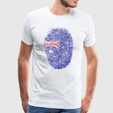 Australia flag - Men's Premium T-Shirt