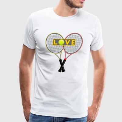 Tennis Love - Men's Premium T-Shirt