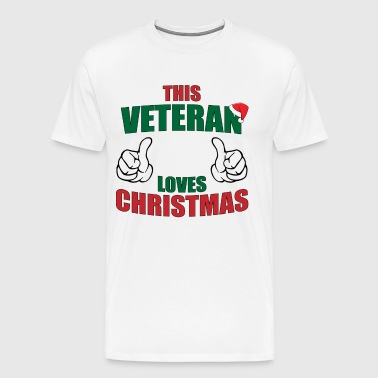 This Veteran Loves Christmas - Men's Premium T-Shirt