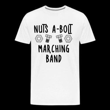 Marching Band Nuts and Bolts - Men's Premium T-Shirt