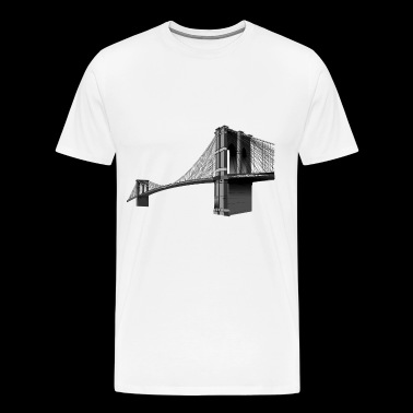 The Brooklyn Bridge - Men's Premium T-Shirt