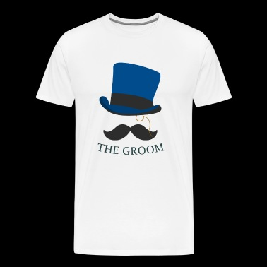 Bachelorparty The Groom - Men's Premium T-Shirt