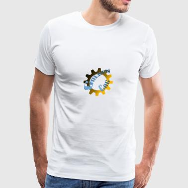 Golden Cog - Men's Premium T-Shirt