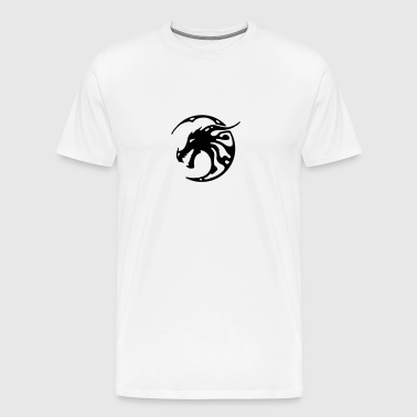 dragon tattoo tribal - Men's Premium T-Shirt