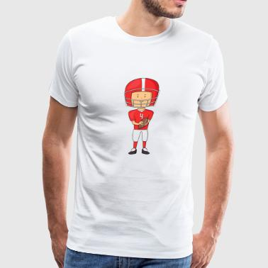 football player 2 - Men's Premium T-Shirt