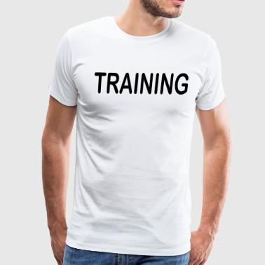 Training - Men's Premium T-Shirt