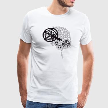 Brain Chain - Men's Premium T-Shirt