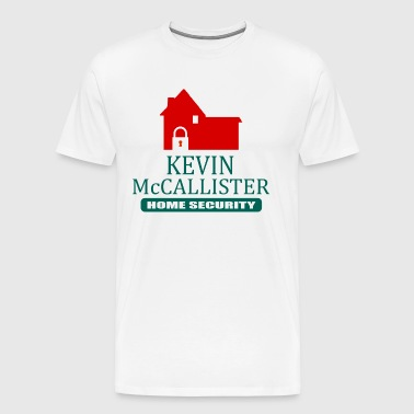Kevin McCallister Home Security - Home Alone - Men's Premium T-Shirt