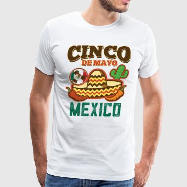 Mexican Cinco De Mayo - Men's Premium T-Shirt