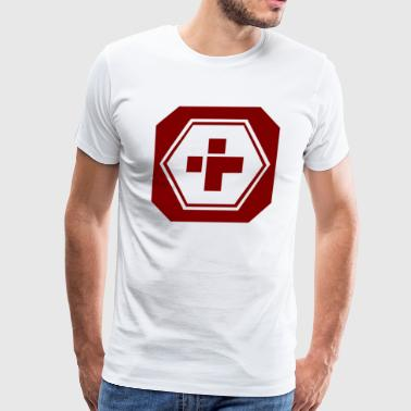 HEALTH FUNNY SYMBOL - Men's Premium T-Shirt