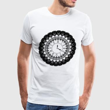 Vintage Clock - Men's Premium T-Shirt