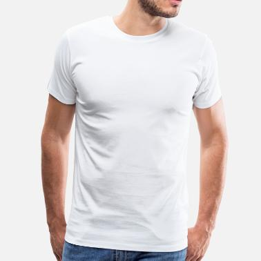 Rump Kick the haters in their (T)RUMP White - Men's Premium T-Shirt