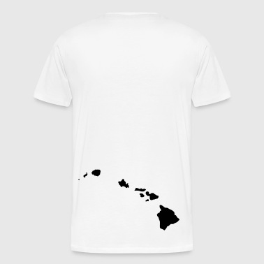 Hawaiian Island Black - Men's Premium T-Shirt