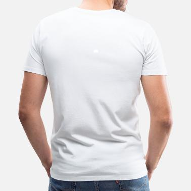 Plain Plain White Tee - Men's Premium T-Shirt