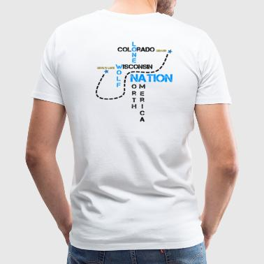 Roadmap By Lone Wolf Nation - Men's Premium T-Shirt