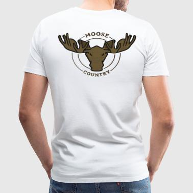 Moose Country - Men's Premium T-Shirt