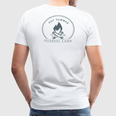 Outdoor Camp T-shirt - Men's Premium T-Shirt