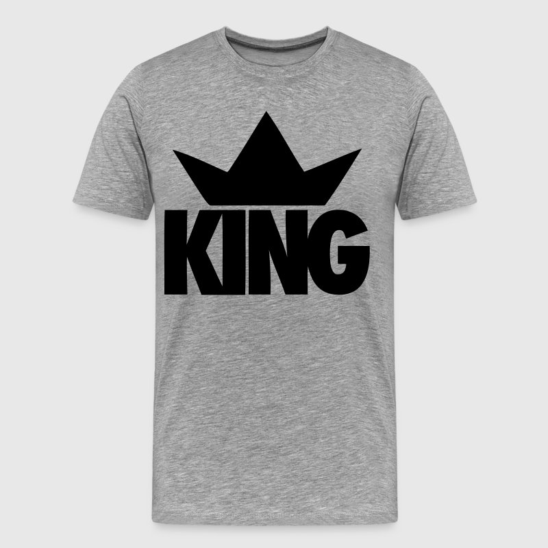 King Crown - stayflyclothing.com - Men's Premium T-Shirt