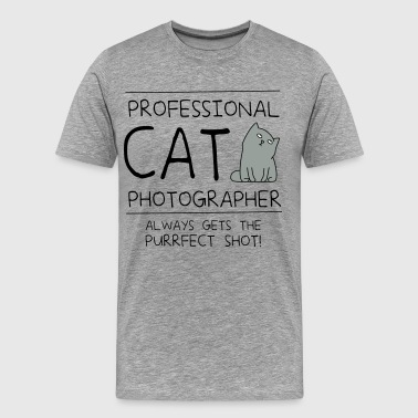 Professional Cat Handler - Men's Premium T-Shirt