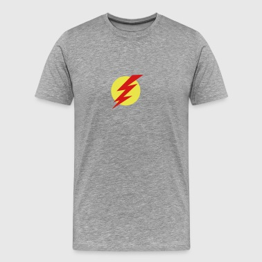 Flash with circle - Men's Premium T-Shirt