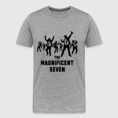 The Magnificent Seven (Drinking Team) - Men's Premium T-Shirt