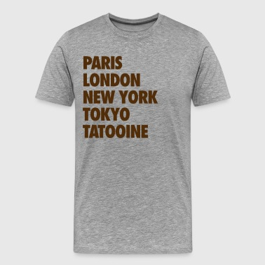 tatooine - Men's Premium T-Shirt