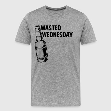 Wasted Wednesday - Men's Premium T-Shirt