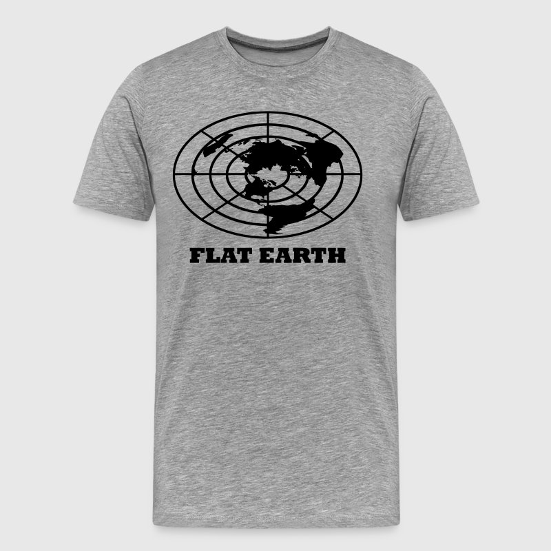 Flat Earth - Men's Premium T-Shirt