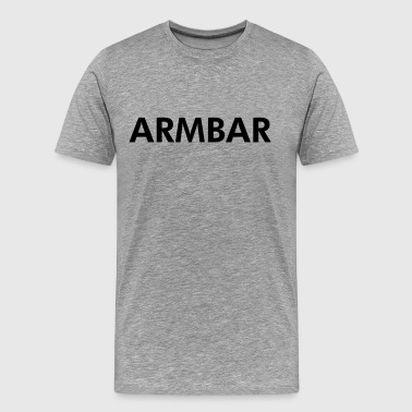Armbar - Men's Premium T-Shirt