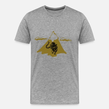 Mountain Lion A mountain lion - Men's Premium T-Shirt