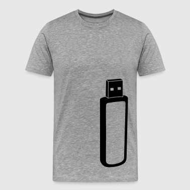 usb stick - Men's Premium T-Shirt
