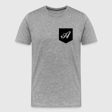 Monogram Pocket - Men's Premium T-Shirt