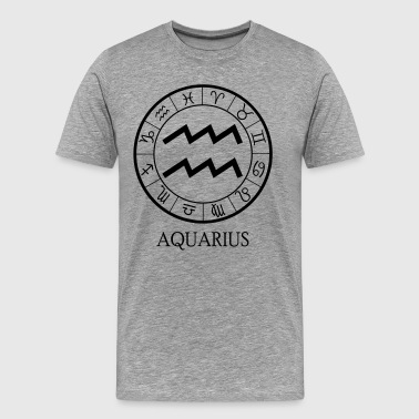 Aquarius astrological zodiac sign - Men's Premium T-Shirt