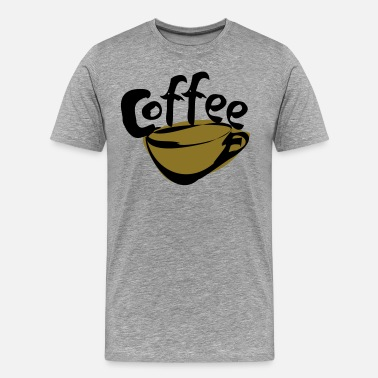 Gloria Jeans coffee! with coffee cup - Men's Premium T-Shirt