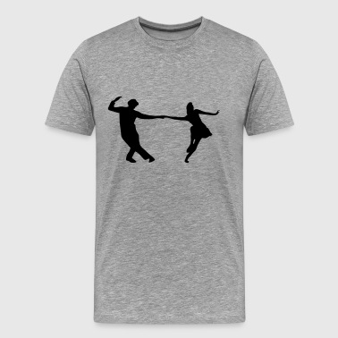 Dancers, Swing - Men's Premium T-Shirt