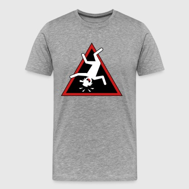Stickman Header-1Triangle Placard - Men's Premium T-Shirt