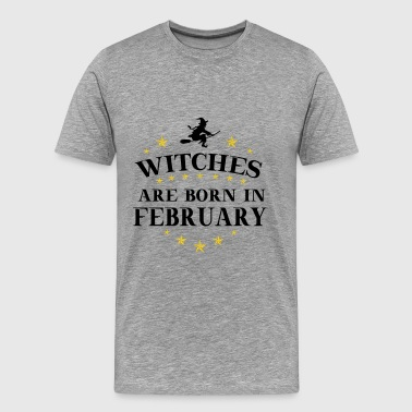 Witches February - Men's Premium T-Shirt