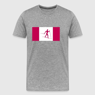 Cross country Canada - Men's Premium T-Shirt