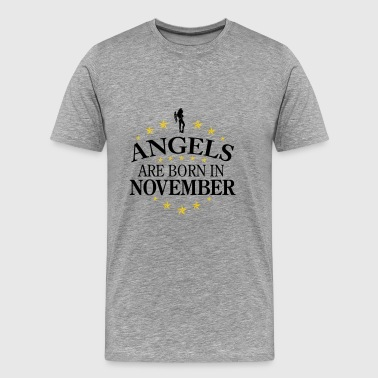 Angels November - Men's Premium T-Shirt