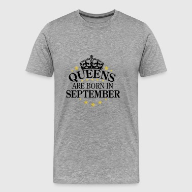 Queens September - Men's Premium T-Shirt