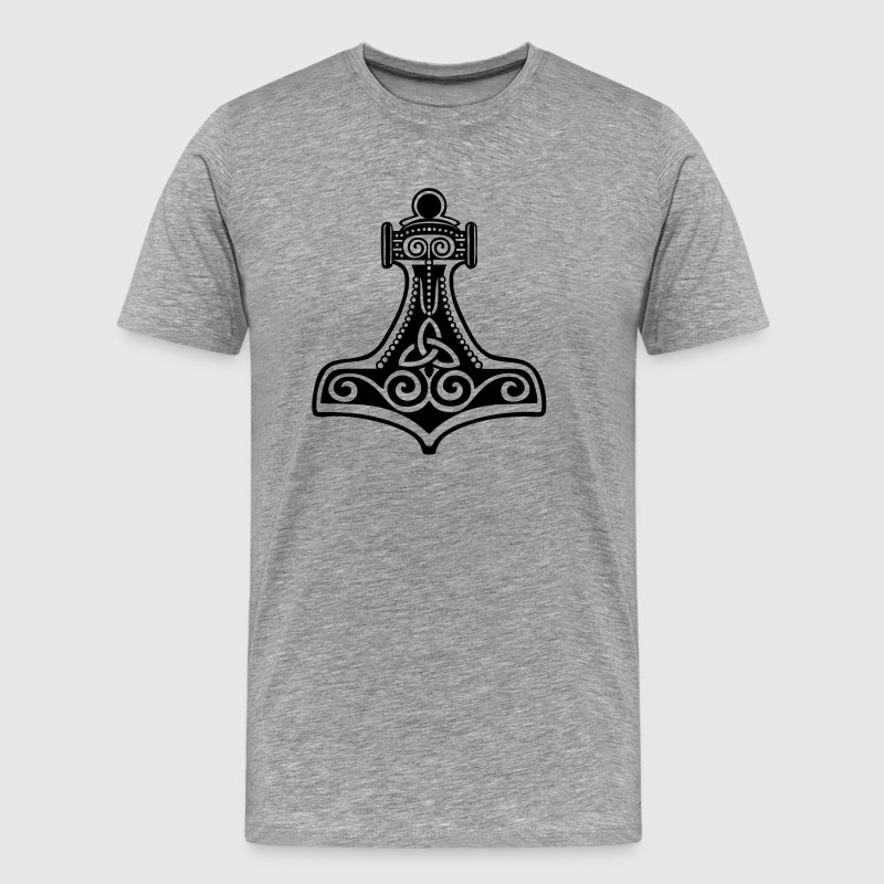 Thorhammer, Symbol - Force, Strength & Courage/ - Men's Premium T-Shirt