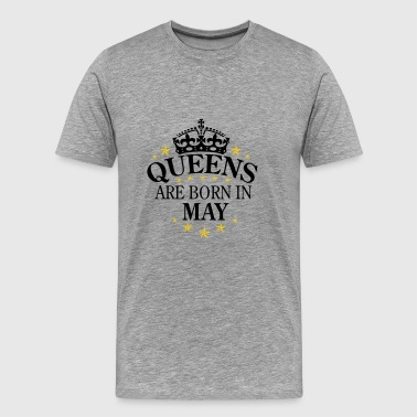 Queens may - Men's Premium T-Shirt