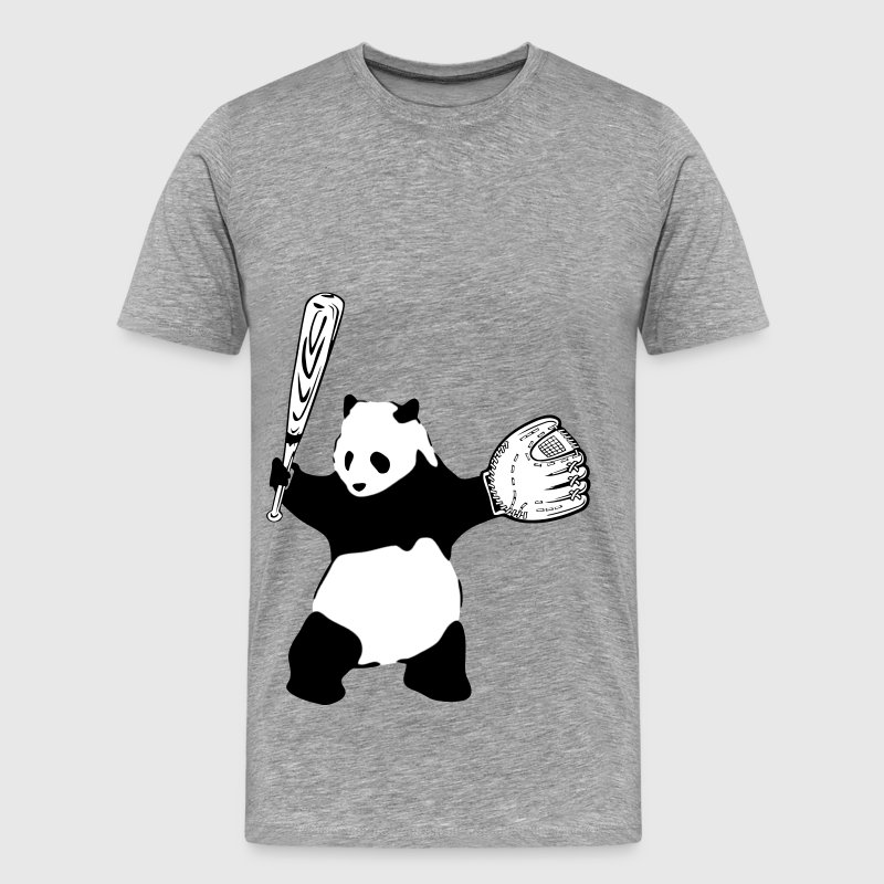 Panda Baseball - Men's Premium T-Shirt
