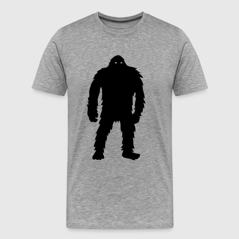 Bigfoot (Black) - Men's Premium T-Shirt