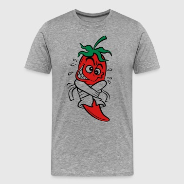 Chilli Pepper (3c)++ - Men's Premium T-Shirt