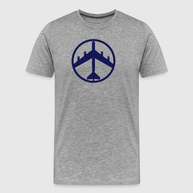 Real Peace Sign - Men's Premium T-Shirt