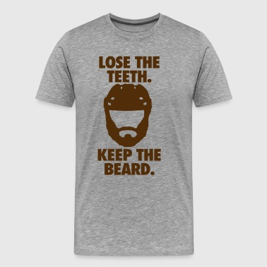 Playoff Beard - Men's Premium T-Shirt