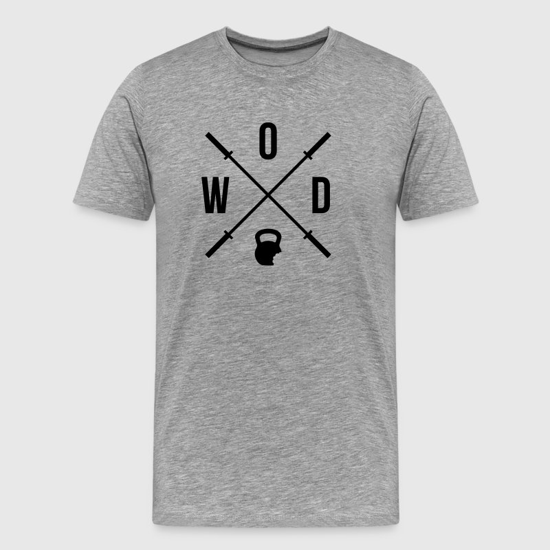 WOD Coffee Mug - Men's Premium T-Shirt