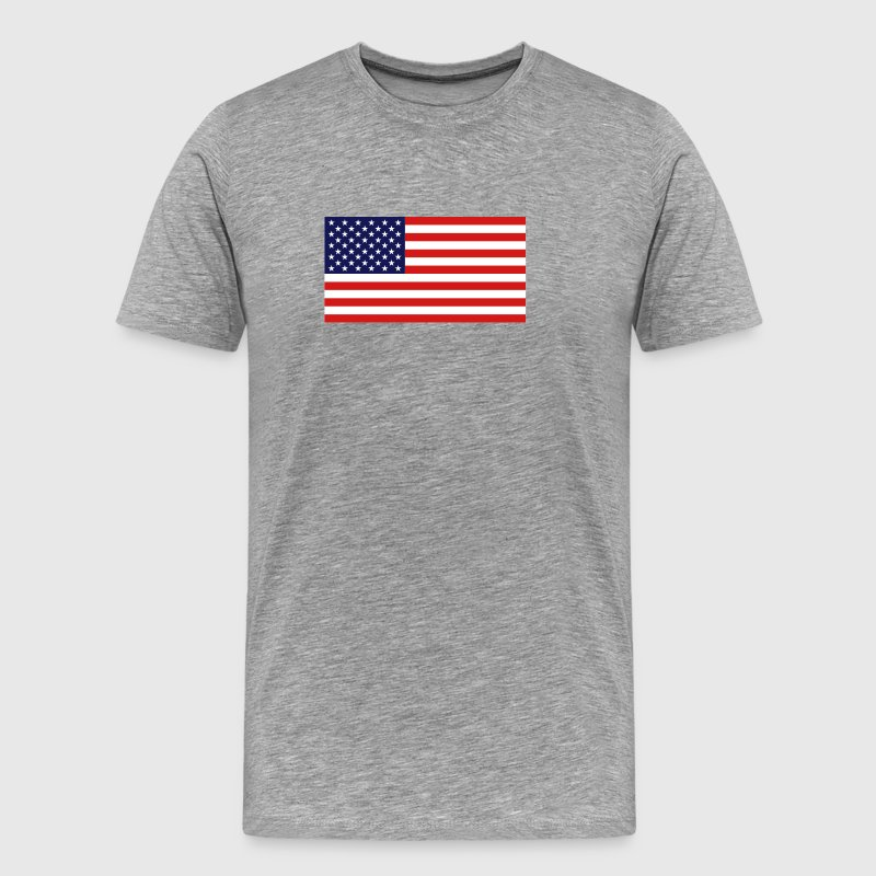 American Flag - Official - Men's Premium T-Shirt