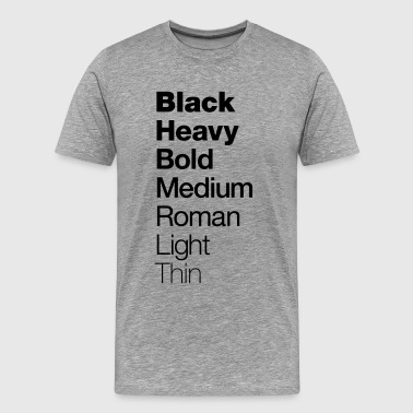 Graphic Design T-shirt Helvetica - Men's Premium T-Shirt